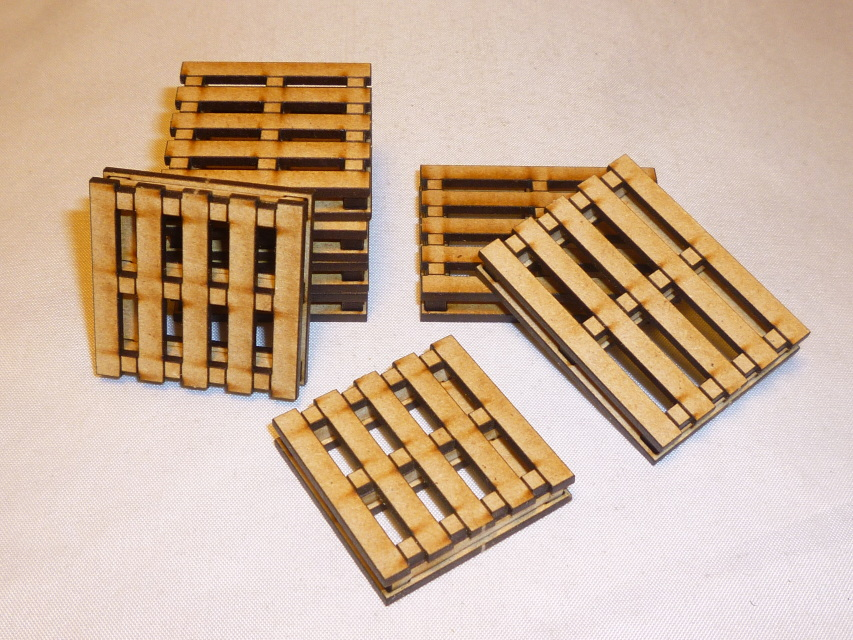 8 Freight Pallets