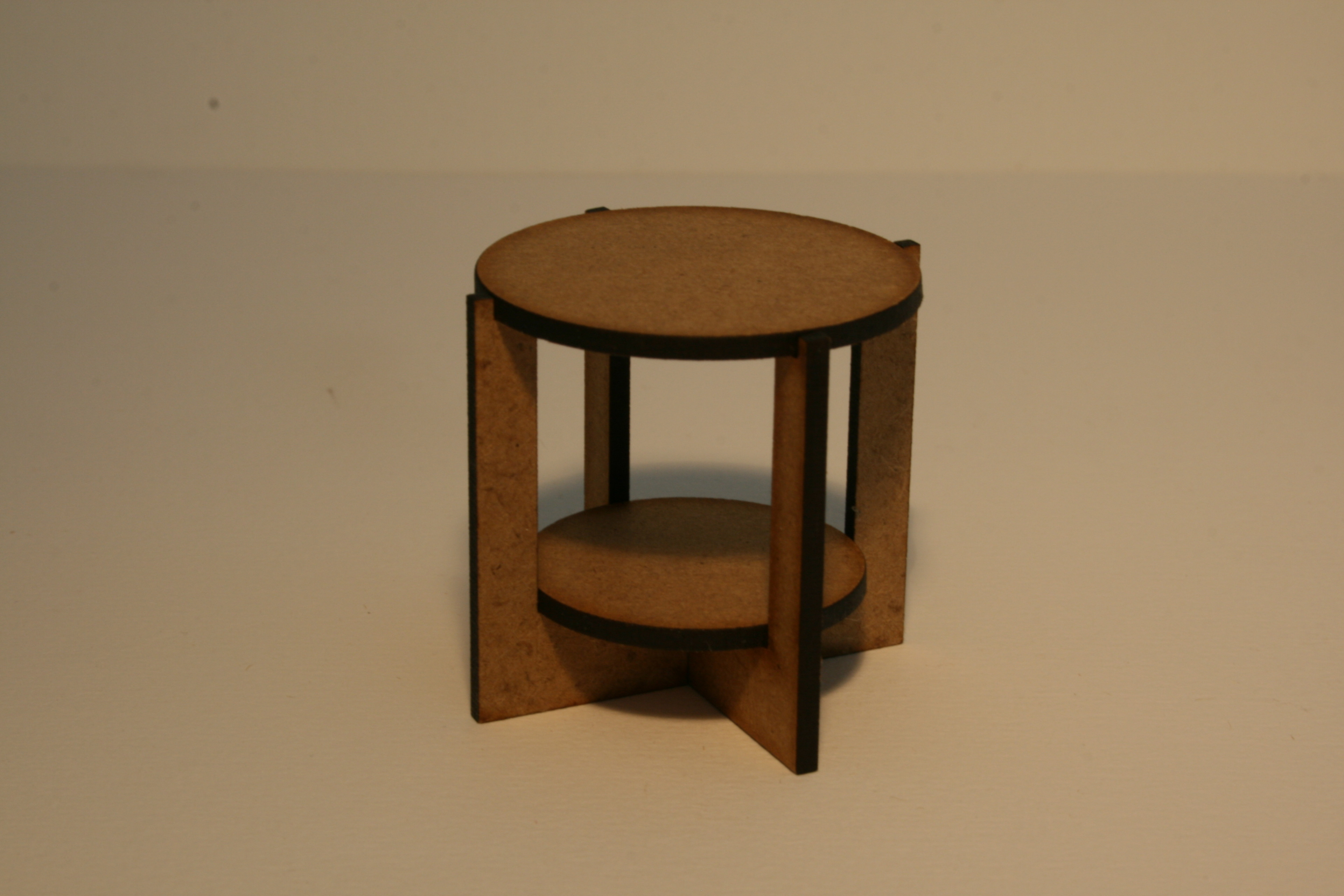 Small Round Sofa Table with MDF Top Kit